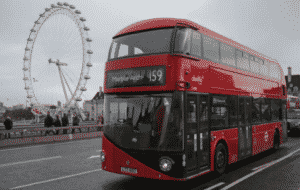 London bus map