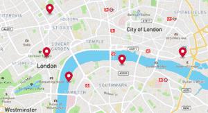 City Of London Tourist Map.London Map All London Maps That You Will Need Mapsbay